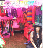 SuSuMaMa stall at Chilled In A Field 2014